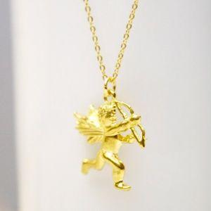 Gold Cherub Angel Necklace/Bracelet, Handmade 🌸